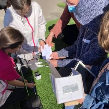 ISG Teaches Physics at Tech Camp